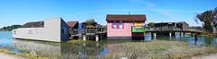 Sausalito (yomgaille) Tags: sanfrancisco california sanfranciscobay boathouse sausalito sfbay tiburon richardsonbay boathouses
