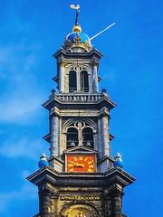 Westertoren (westerchurch) Amsterdam (By iPhone) (Eelko71) Tags: church amsterdam frank anne prinsengracht van centrum rembrandt annefrank rijn jordaan westertoren westerkerk westerntower westernchurch