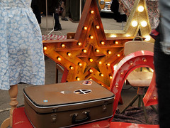Bright lights (Cath Dupuy) Tags: london cars ford chevrolet thames vintage austin river shopping 60s riverside sale cadillac retro southbank 50s cocacola morris rocknroll timeout classiccars stalls bricabrac 40s bootsale mannequi dayouy