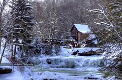 Grist Mill winter wonderland (Notkalvin) Tags: winter snow cold mill frozen wv westvirginia gristmill gladecreek babcockstatepark gladecreekgristmill mikekline michaelkline notkalvin notkalvinphotography