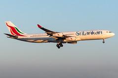 4R-ADF - SriLankan Airlines - Airbus A340-300 (5B-DUS) Tags: am airport frankfurt main airbus flughafen airlines fra srilankan a340 340 fraport rheinmain a340300 a343 eddf 4radf