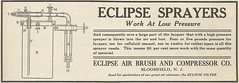 Eclipse Air brushes _ Compressor Co (Kitmondo.com) Tags: old colour history industry work vintage magazine advertising photo industrial factory technology tech working machine advertisement equipment business company machinery advert labour historical kit oldequipment publication metalworking oldadvert oldmagazine oldwriting vintageequipment oldadvertisment oldliterature vintagepublication oldpublication machinerypublication
