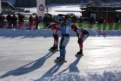 Weissensee Alternatieve Elfstedentocht 2015 - Yvonne Spigt wint (Andrea van Leerdam) Tags: winter sneeuw weissensee elfstedentocht natuurijs yvonnespigt aet2015