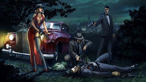 Постер для игры Мафия