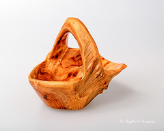 Burled Candy Bowl (augphoto) Tags: wood stilllife texture handle wooden carved tabletop burl curio bowel augphotoimagery