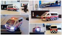 Birthday pressie from Jill.. (Mike-Lee) Tags: collage speed radio lights chinese picasa ambulance radiocontrolled 999 fromchina citycars no5020