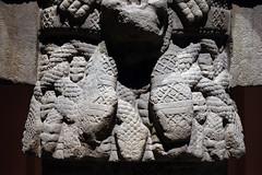 Coatlicue, detail with belt tassels, c. 1500, Mexica (Aztec)