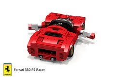 Ferrari 330 P4 Sports Prototype (1967 - sn 0856) (lego911) Tags: auto italy classic sports car model italian lego render under over ferrari 330 prototype million 1967 1960s daytona challenge lemans thousand cad racer lugnuts 89 povray v12 moc p4 drogo ldd miniland 0856 lego911 sn0856 overamillionunderathousand
