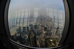 DSC_0074-10 (tamas.doczi) Tags: china skyline nikon skyscrapers shanghai fisheye    pudongskyline   theopener wordfinancialcentershanghai