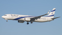 El Al Isreal Airlines 4X-EHC 737-958ERW (erikschlijper) Tags: delta lan american aurora atlas klm turkish a330 easyjet a340 md11 surinam usairways hekla elal icelandair martinair a319 a321 b787 b757 a310 tarom arke kalitta b737900 chinacargo airbridgecargo b744f b777206er b7472f b777f b7478f b7770306er