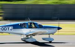 Tobago TB10 (cedric.harbulot) Tags: nikon aircraft magenta sigma ciel takeoff nouvellecaldonie newcaledonia tobago avion piste aerodrome dcollage arodrome nouma 18250mm d5300