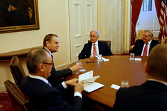European Council President Donald Tusk Visits Washington DC