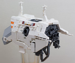 Very early WIP (Blake Foster) Tags: ship space spaceship microscale