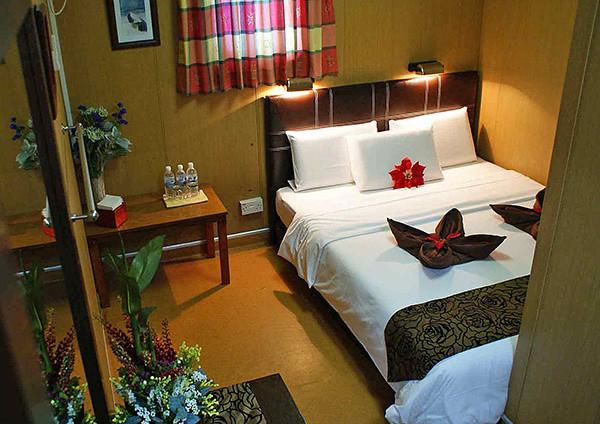 Nội thất một phòng tại khu resort