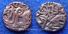 Ghaznavid 1 Jital 1030-1040 2 (Numismatic Coins & History) Tags: coin asia moneda 1030 1040 mnze ghazni jital billon drachm ghaznavid masudi amirishahid