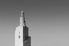 Minaret (Mosab AlSobhi) Tags: bw white abstract black iso100 nikon medina saudiarabia masjid    masjed 2015 almadinah     saudiarabi mosab   d7100  miqat meeqat   meqat alsobhi almadinahprovince