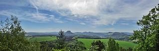 View from Kleinen Bärenstein - Sächsische Schweiz, Sachsen [explored]