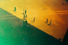 Rollei Redbird - Book 2 - 12. The Dancer (Benji :D) Tags: boy sun london art beauty rollei 35mm painting gallery shadows dancing dancer tatemodern shape redbird trip35 olympustrip 2015 redscale