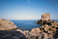 Long exposure Pietragrande (#Luka#) Tags: sea sky italy seascape nature beautiful beauty clouds landscape nikon rocks long exposure tokina1224 tokina calabria ionian pietragrande nikond7100