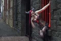 Female Wyvern (7) (Dezmin) Tags: rock drag photography model punk king alt alice horns cooper loki demon devil corset spine tentacle mx slippery alternative eloquent genderfuck