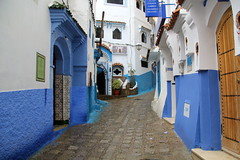 IMG_3690 (rachel_salay) Tags: city blue morocco chefchaouen