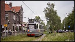 20160529 EMA 586, Amstelveen (Koen Brouwer) Tags: station amsterdam gare tram bahnhof mei ema museumtram amstelveen gvb 2016 elektrische 586