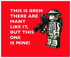 My mate bren! (tim constable) Tags: light trooper rock usmc infantry proud vintage soldier army dangerous friend friendship lego retro weapon trust ww2 conflict british minifig mate colleague machinegun worldwar2 creed secondworldwar armed steady minifigure reliable rifleman dependable brengun infantryman machinegunner slopearms firesupport relyon timconstable