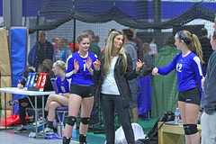IMG_1545 (SJH Foto) Tags: school girls club coach high team teens teenager volleyball erika benches assistant sidelines schlager tweens