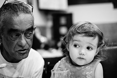 One more ? (FranciscoEvangelista) Tags: life blackandwhite bw classic film look contrast dinner 35mm one blackwhite fuji time eating good f14 daughter simulation grandpa more granddaughter fujifilm xf xpro1