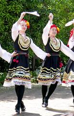 Folk dance of Bulgaria festival,Tokyo Chofu Floral Garden (sapphire_rouge) Tags: woman rose garden botanical tokyo bulgaria  miss chofu
