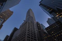 Chrysler Building (Brandon Godfrey) Tags: newyorkcity newyork nyc manhattan thebigapple chryslerbuilding wideangle bluehour twilight artdeco midtown midtownmanhattan urban cityscape bigcity city usa unitedstates unitedstatesofamerica 42ndst lexintonave