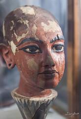 #12 (Tarek Ezzat) Tags: wood old people sculpture flower museum canon lens eos lotus head egypt cairo egyptian m42 pharaoh dslr tutankhamun     35105mm 600d   revuenon