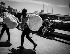 Barceloneta (Angela redondo) Tags: barcelona blackandwhite bw blancoynegro puerto trabajo barceloneta cultura topmanta monocroma