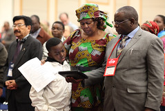 African Central Conferences worship service. (United Methodist News Service) Tags: africa family oregon portland worship technology unitedstates gc2016
