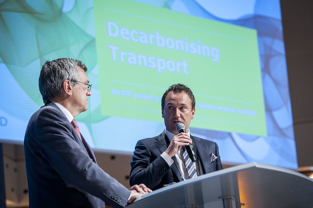 José Viegas and Andreas Svengunsson on challenges of the Decarbonising Transport project