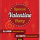 Romance Love Couples Party Invitation Poster/Flyer (Clubs & Parties) (wonderart_bd) Tags: photoshop design graphics unique most stuff wanted psd resources wonderart graphicriver