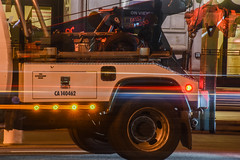 larkin street tow (pbo31) Tags: sanfrancisco california orange motion color june night truck dark spring nikon traffic ghost bayarea tow civiccenter tenderloin 415 roadway 2016 lightstream larkinstreet boury pbo31 d810