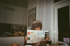 #reilaineu (kyingwong) Tags: girl shower reading living map balcony room indian indoor towel hong kong aisa airbnb
