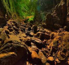 Exodus to light!! (baha_spieler) Tags: nature cave vertorama