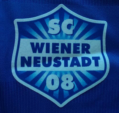 SC Wiener Neustadt match worn shirt 2015/16 Mario Stefel