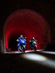 LightMotos (Suso Sinmiedo) Tags: blue lightpainting verde green azul alicante motorbike moto tunel agost pilito vaverdedelmaigm