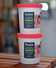 Tovolo Tub (Oh Ya, Winter's Here..Bring Snow Plz!) Tags: top rubber raspberry safe inthekitchen 50mmlens niftyfifty tovolo icecreamtubs bphfree