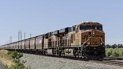 Waiting Game (lennycarl08) Tags: railroad trains bnsf burlingtonnorthernsantafe burlingtonnorthernsantaferailroad stocktonsub