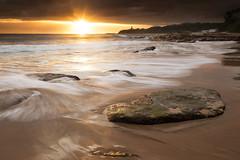Secret Beach Sunrise (JasonBeaven) Tags: sun seascape beach sunrise print photo photographer australia nsw centralcoast jasonbeaven