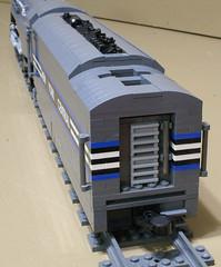 Dreyfuss_Hudson_16 (SavaTheAggie) Tags: lego steam engine locomotive hudson 464 henry dreyfuss new york central system nyc railroad train trains streamlined streamliner j3a