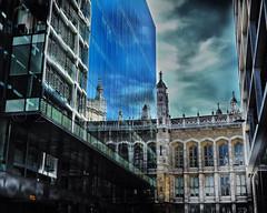 LONDON REFLECTIONS (Simon R Brook) Tags: windows london glass stone architecture concrete refelections d7000 simonrbrook