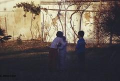 Kids, Hugs <3 (Giorgi Mkheidze) Tags: kids trees hugs filmios200 nikkorrmat ft2 photosbuygiorgimkheidze