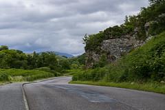 En route vers le château de Dunstaffnage