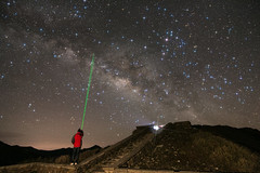 May I reach someone out there? (michaelrpf) Tags: landscape star taiwan resort galaxy     hehuanshan   hehuanshannational