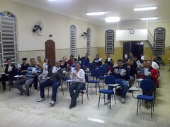 07.06.2016 -  Nova Turma do Básico em Teologia na Unidade de Arujá.